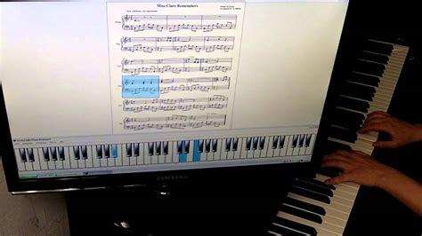 tutorial piano enya enya miss clare remembers piano tutorial youtube