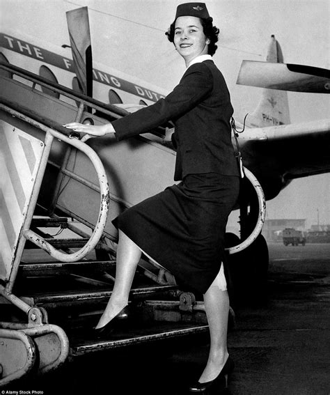 Fifties Legshows | the evolution of cabin crew uniforms from vivienne