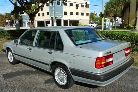 how to work on cars 1992 volvo 960 parental controls 1992 volvo 960 silver metallic with 175000 miles available now