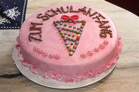 schulanfang torte torten und geb 228 ck mit dekorationen der b 228 ckerei