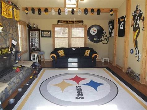 Steelers Bedroom Decor by Steelers Room Diy Ideas Of Decor And Lol