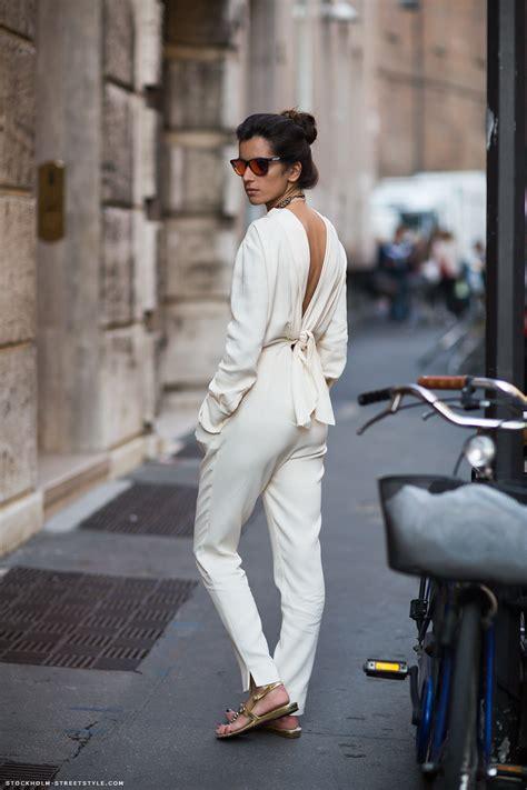 White Style Wardrobe - fashion trend white jumpsuits for 2019 fashiongum