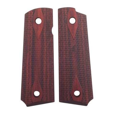 Auto Bersetzung by 1911 Rosewood Laminate Grips Ed Brown Laminate Grips