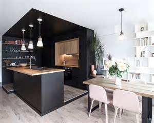 mid sized scandinavian kitchen design ideas amp remodel pictures houzz photos
