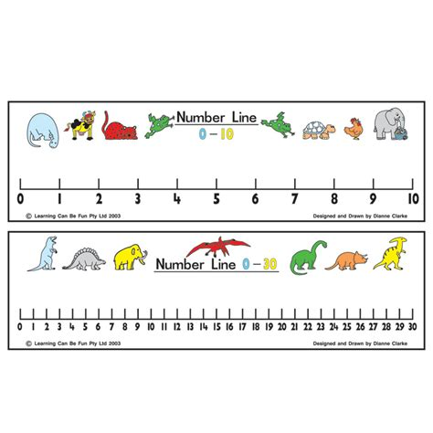 printable integer number line free number line to 30 new calendar template site