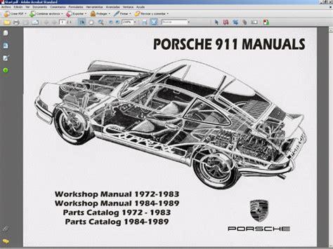 download car manuals 2012 porsche 911 engine control porsche 911 service manual wiring diagram parts manual