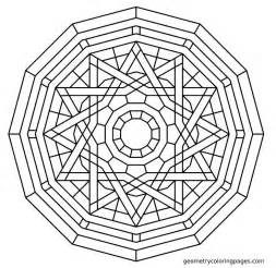 geometry coloring pages geometric mandala coloring pages coloring home