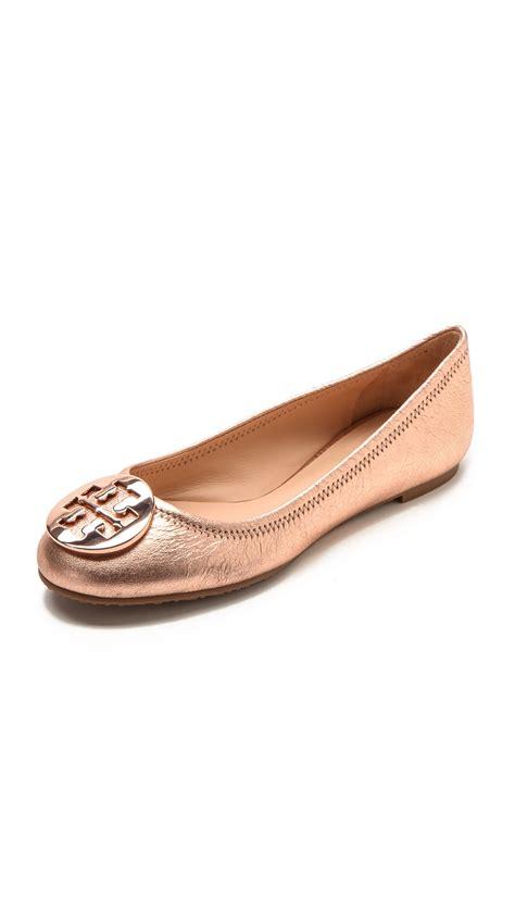 Going Burch Reva Ballet Flats by Burch Reva Ballet Flats Gold In Pink Lyst
