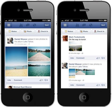 edge design instagram facebook takes a cue from google instagram with edge to