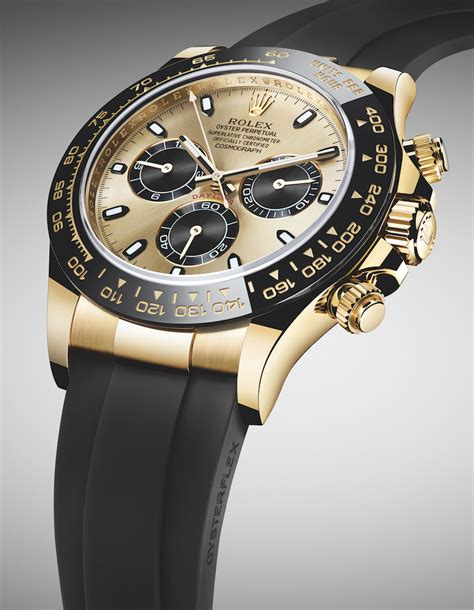 Rolex Giveaway 2017 - new rolex cosmograph daytona watches in gold with oysterflex rubber strap ceramic