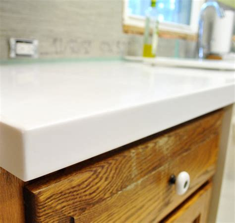 Corian Countertops by Our White Corian Counters Are In And We Them