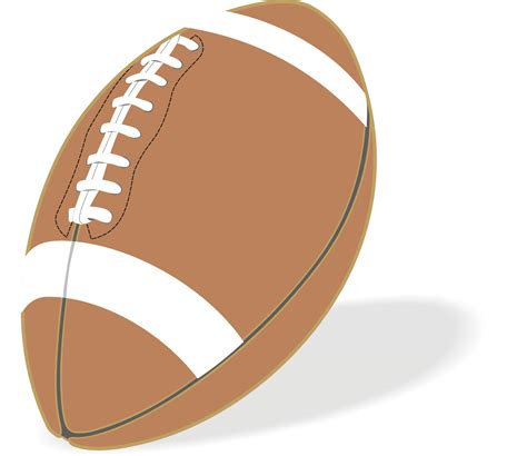 football clipart free football free images at clker vector clip