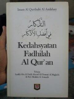 buku kedahsyatan fadhilah al qur an toko muslim title
