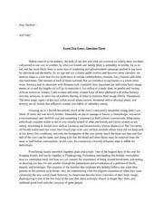 Columbian Exchange Essay by Columbian Essay Exchange The