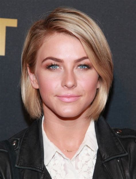 julianne hough shoulder length bob haircut for straight julianne hough hairstyles celebrity latest hairstyles 2016