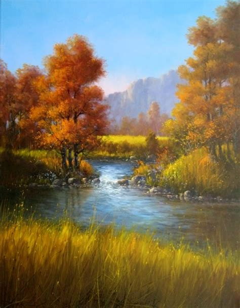 acrylic painting with jerry yarnell jerry yarnell is a inspiration to my landscape