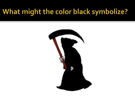 what does the color black symbolize 28 images so which