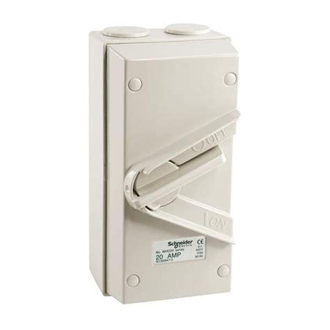 Isolator Switch 20a schneider kavacha 20a pole we end 4 12 2017 4 15 pm