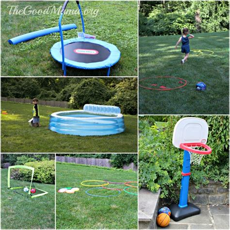 host your own backyard olympics for toddlers the