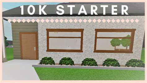 home 10k roblox welcome to bloxburg 10k starter home