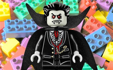 Lego Mini Benign priest warns lego and figurines are tools
