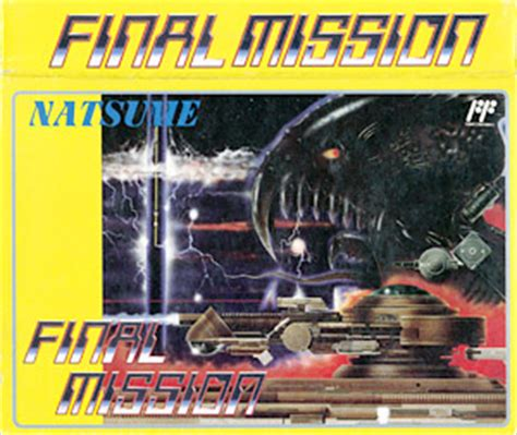 laurent kermel video game den : famicom : final mission )
