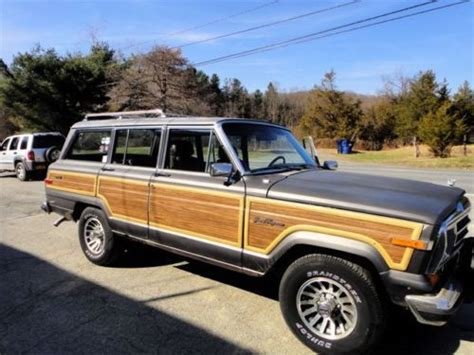 1989 Jeep Grand Purchase Used 1989 Jeep Grand Wagoneer Base Sport Utility