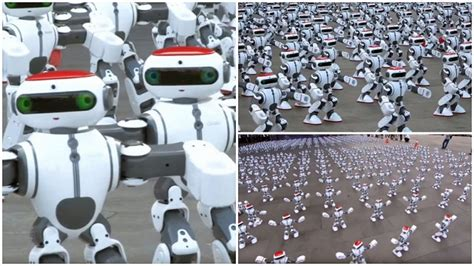 Oldest To Give Birth Guinness Book Of World Records 1069 Robots Set New Guinness World Record