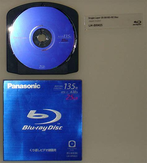 Panasonic Blueray Disk Media 25gb T2909 disc aqui lo que significa y para que sirve