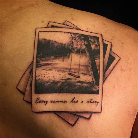 polaroid tattoo designs keep your memories forever with polaroid tattoos