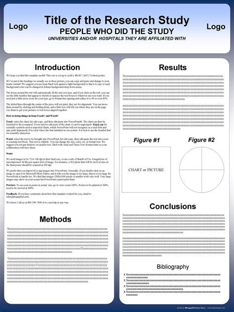 college presentation poster template 10 powerpoint poster