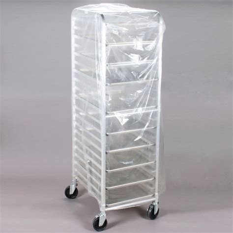 Bun Rack Cover by 22 Quot X 31 Quot X 72 Quot Disposable 75 Mil Bun Pan Rack Cover 100 Roll