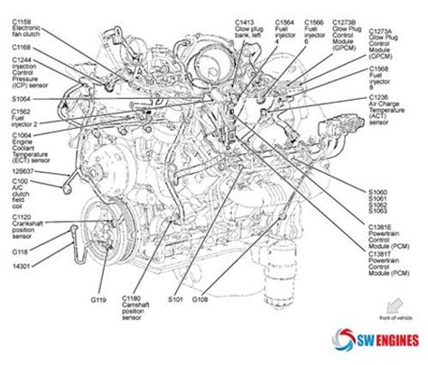 ford truck parts diagram 21 best engine diagram images on engine motor