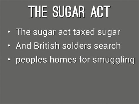 quotes about the sugar act quotesgram