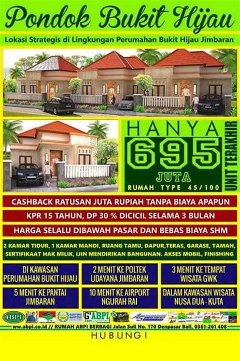 Villa Bukit Hijau pondok bukit hijau jimbaran tiga pilar agung property