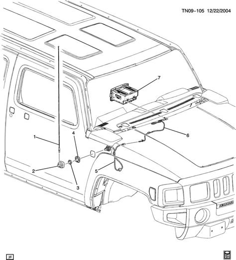 hummer h3 antenna replacement 2006 hummer h3 antenna removal tonkinonlineparts autos