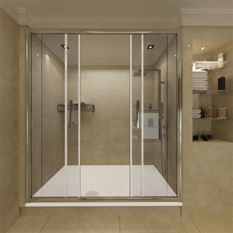 Shower Enclosure Sliding 6mm Glass Door Cubicle Screen Shower Cubicle Door