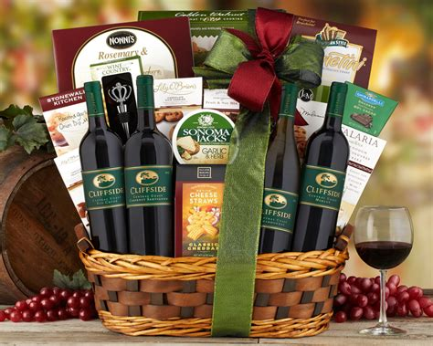 wine country gift baskets finding the perfect wine gift