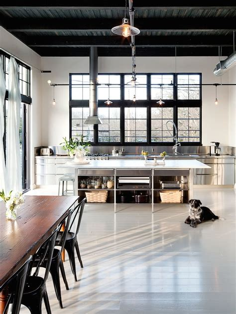 industrial style loft industrial style kitchen design ideas marvelous images