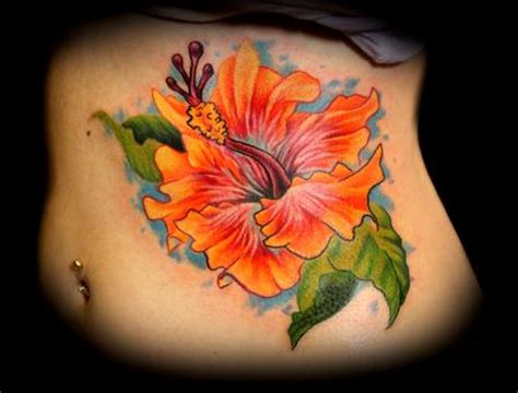 hibiscus tattoo meaning hibiscus flower on ribs ideas tattoomagz