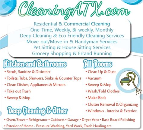 cleaning services advertising templates 20 cleaning services flyers templates