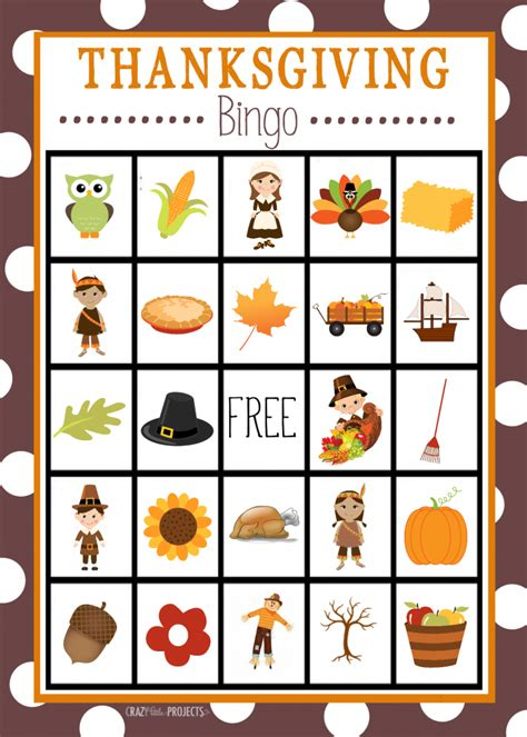 Printable Thanksgiving Bingo Cards Free | thanksgiving printables mad libs color by number and bingo