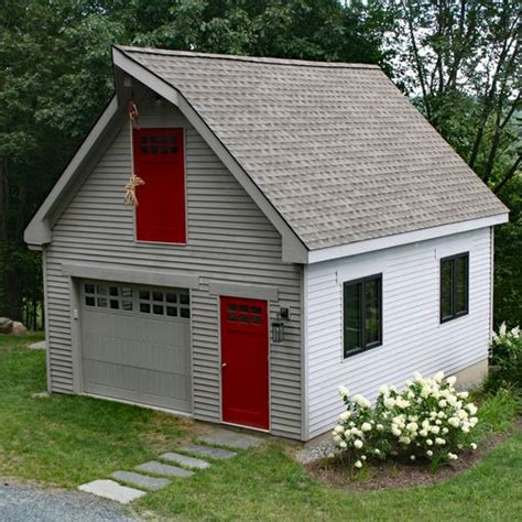 Modular Garage Massachusetts by Modular Single Car Garages Custom Barns And Buildings