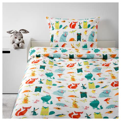 Quilt Pillowcase by Lattjo Quilt Cover And Pillowcase Animal Multicolour
