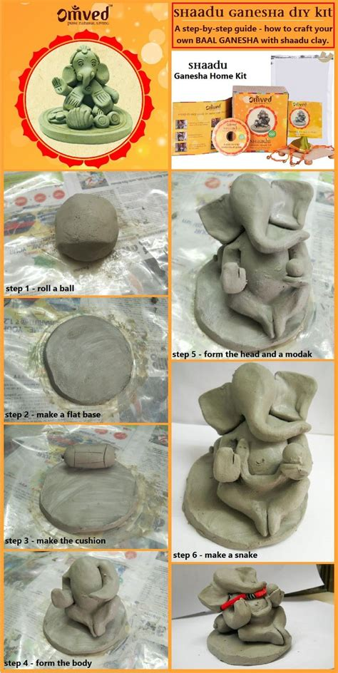 a step by step guide on your own baal ganesha idol