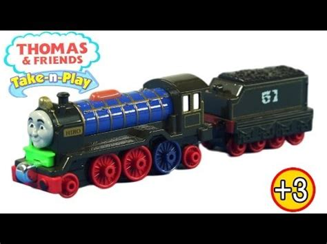 Trackmaster Patchwork Hiro - fisher price the take n play talking stephen
