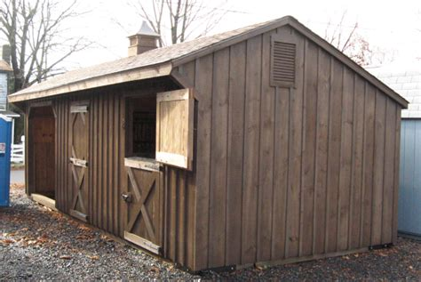 Amish Run In Sheds by Barns Stalls Run In Sheds For Your Horses