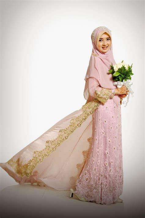 Kebaya Ungu Semi Pink 25 model kebaya modern simple muslim terbaru 2017 jadi
