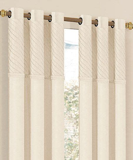 cream colored curtains 1000 images about cream colored grommet drapery panels on