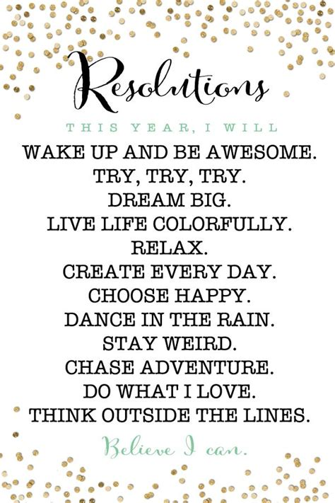 new years resolution quotes for kids